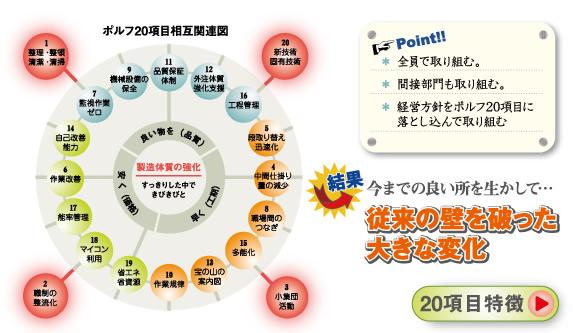 ポルフ20項目相互関連図